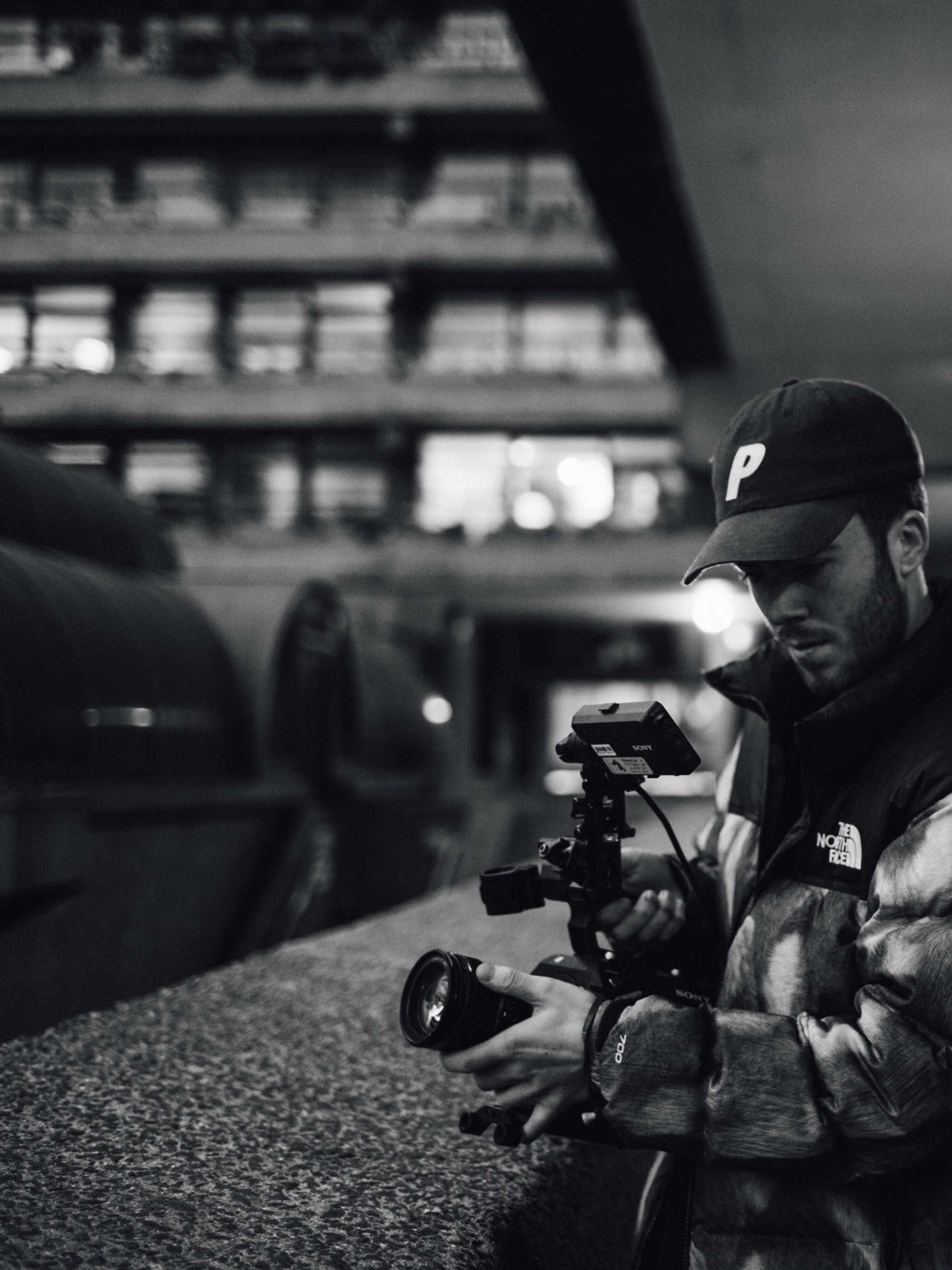 black and white photographer