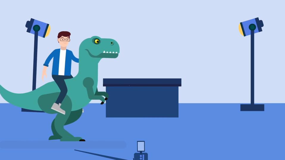 cartoon person riding dinosaur