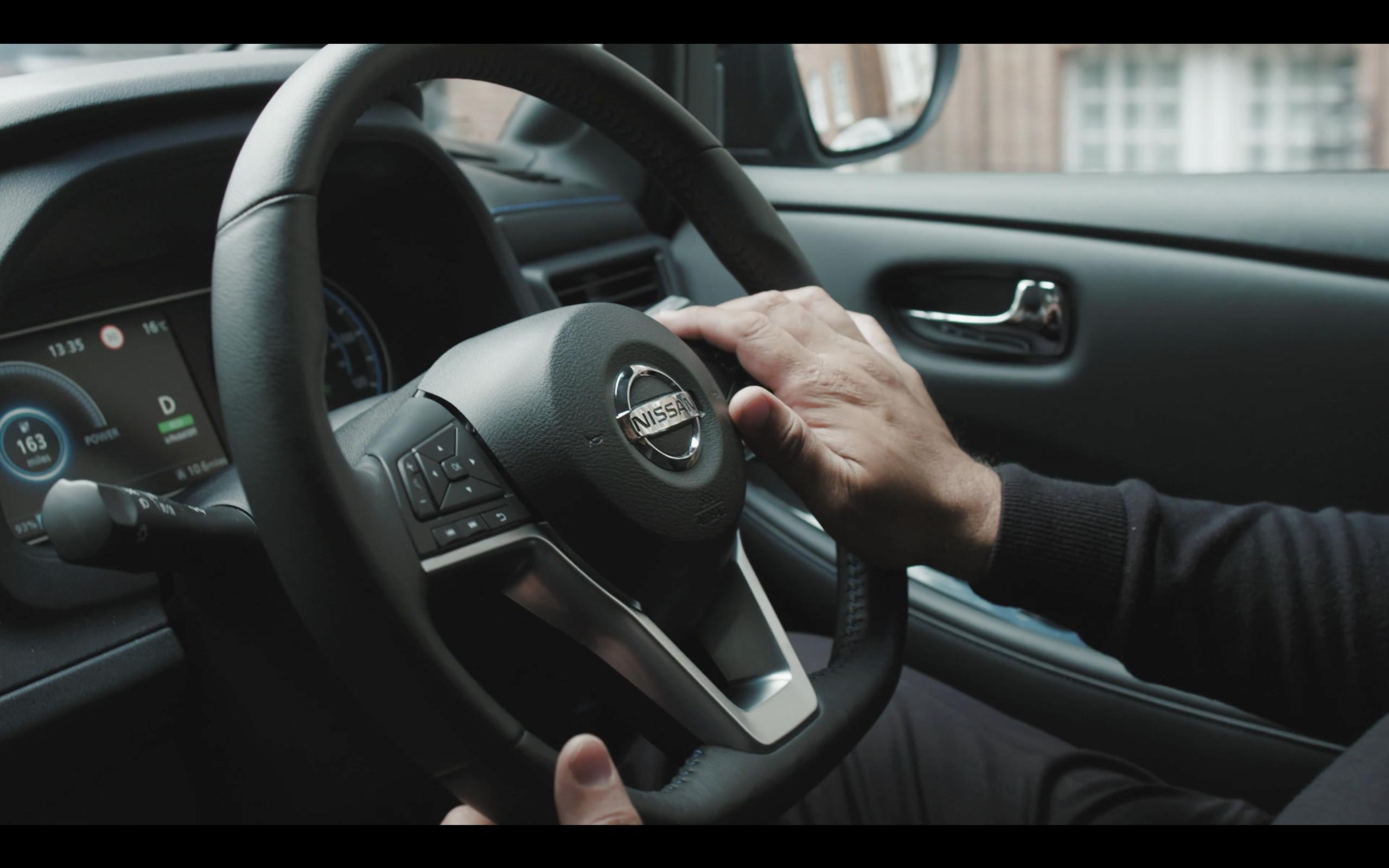 Uber Vehicles - close up of steering wheel
