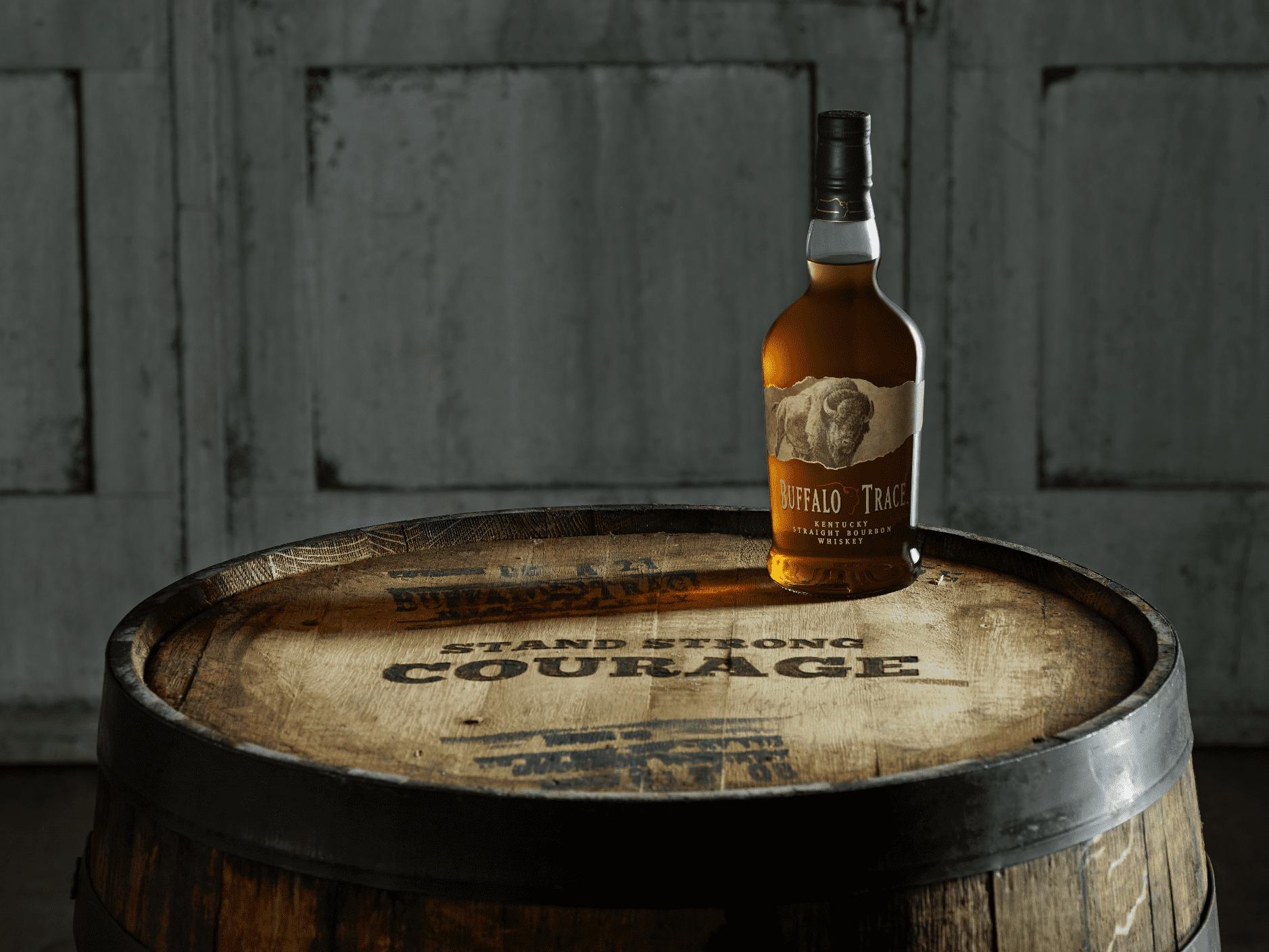 Buffalo Trace - barrel and alcohol