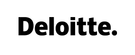 Logo Deloitte black
