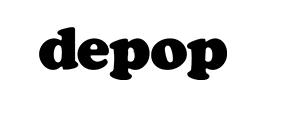 Logo depop black