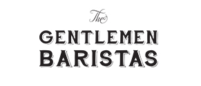 logo gentlemen barista black