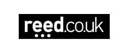 Logo Reed white