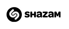 logo shazam black